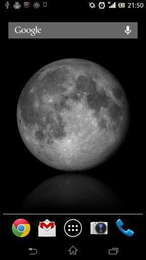 ムーンカレンダーがライブ壁紙になりました。<br>毎日見ているようで、見ていない月の顔、壁紙に設定して息抜きにどうぞ。ウサギが見えるかどうかはわかりませんが、月の模様が神秘的で美しいです。<p>ウィジェットの使いたい場合はこちらをどうぞ!!<br>[ムーンカレンダーwithウィジェット]<br>https://play.google.com/store/apps/details?id=jp.co.neosystem.moon<p>★主な機能<br>月が満ち欠けをし、現在の月の表情(月相)になります。<br>壁紙が満月のときは、実際に満月です。夜空を見上げてみてください。<p>★設定内容<br>・表示する月の満ち欠け<br> 現在の表情(月相)の他、満月や月が満ち欠けし続ける設定ができます。<p>・月の表示位置<p>・画像反射の有無<p>★動作確認済み端末<br>・Xperia SX<br>・Xperia arc