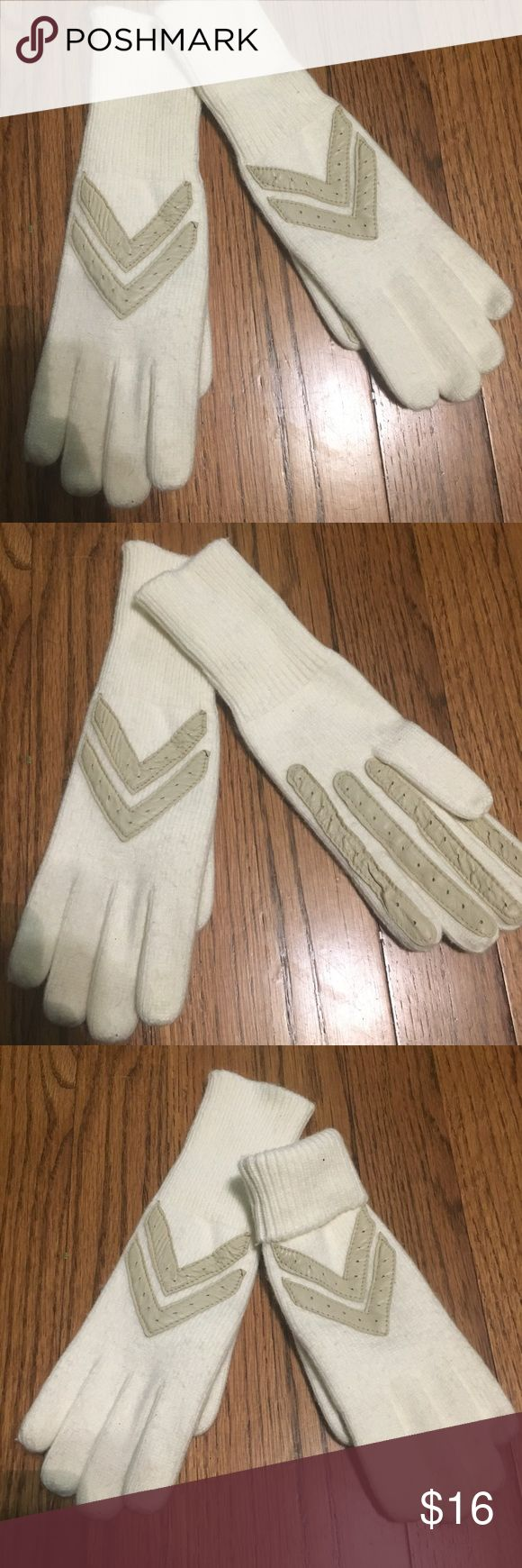 Women's gloves Women's withe/cream gloves. New condition Accessories Gloves & Mittens