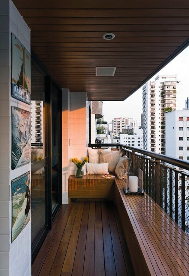 Things To Have In A Balcony | Apartment Balcony Ideas | Balcony Garden Web