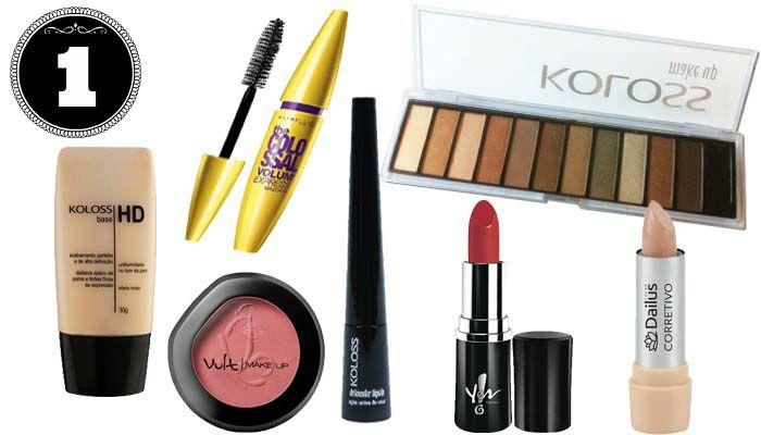 Como montar um kit de maquiagem para Iniciantes 02