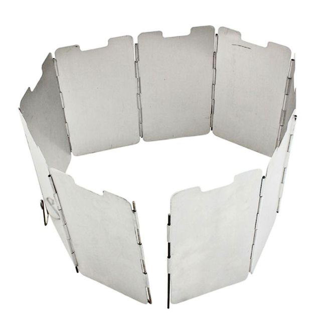 TBC Camping Stove Windshield Concertina - Camping Cooker Windshield