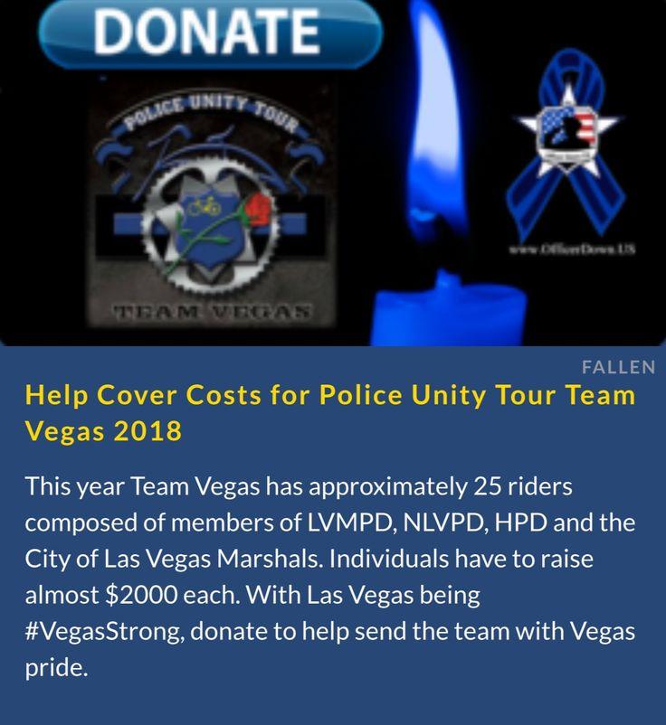 #TeamVegas Police Unity Tour