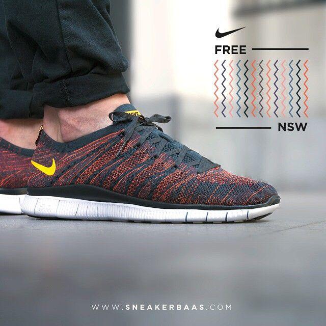 #nikefreensw @nikesportswear #nsw #nikesportswear #nikeflyknit #flyknit #sneakerbaas #baasbovenbaas  Nike Free Flyknit NSW - Now available