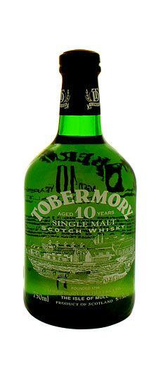 Tobermory 10 year old Isle of Mull Single Malt Whisky 750ml