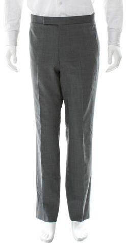 Thom Browne Wool Straight-Leg Pants