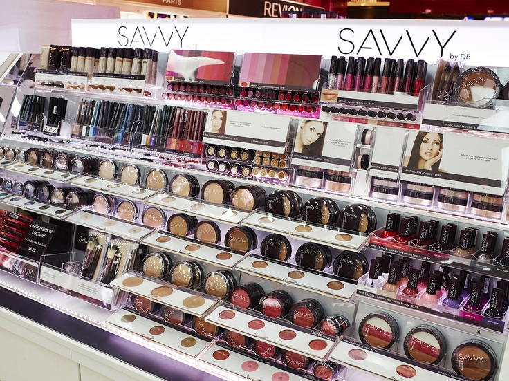 cosmetic display bergerie - Priceline manufactured by room one melbourne