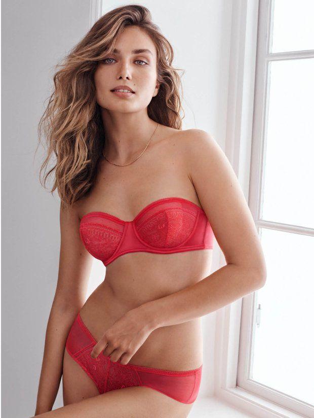 Kolekcja H&M na Walentynki 2016: balkonetka 59,90, figi 29,90