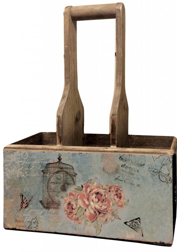 Vintage Rose Triple Storage