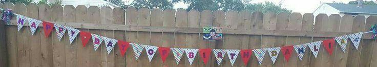 Happy Day Of Birth Banner