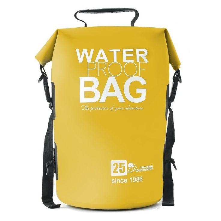 Bolsa impermeable ideal para mantener seco el equipo en el transcurso de cualquier actividad acuática o de aire libre. Se puede configurar para llevar como una mochila. Regalos para senderistas