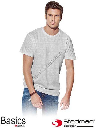 Jasnoszary t-shirt męski STEDMAN ST2000_ASH