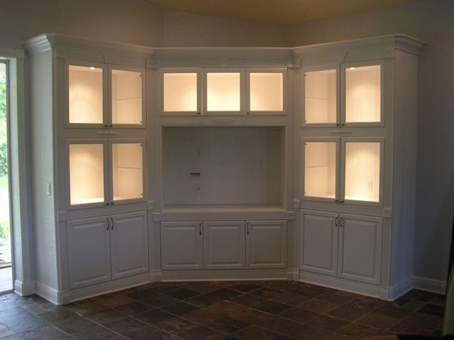 Entertainment center. I want something like this in my master bedroom