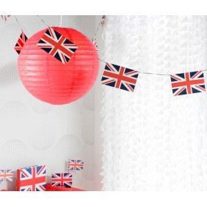 banderole angleterre drapeau union jack 6 m tres. Black Bedroom Furniture Sets. Home Design Ideas