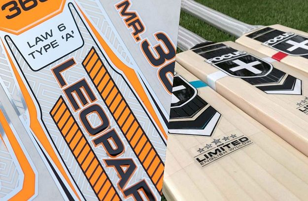3D//Embossed 2019 Latest Model Edition Cricket Bat Stickers TOE GUARD FREE