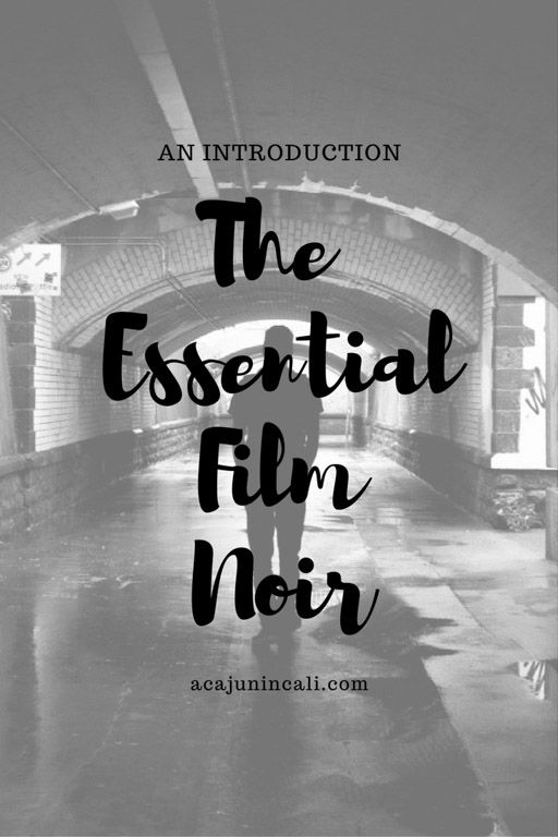 Have a classic movie lover on your holiday gift list? If so, don't miss this guide to Film Noir, the darkest Classic Movie genre of all! These films are sure to please any movie buff!