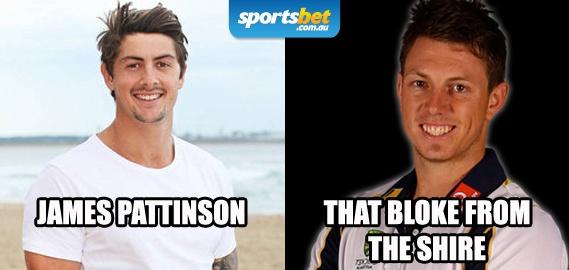 Look Alikes - James Pattinson and Mitch Dean - Sportsbet.com.au