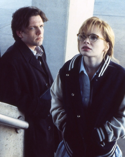 "Martin Donovan and Adrienne Shelly in Hal Hartley's ""Trust"""