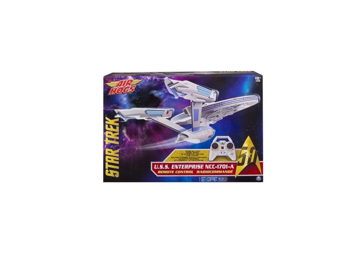 Air Hogs Star Trek U.S.S Enterprise NCC-1701-A Remote Control Drone with Lights and Sounds 2.4 GHZ 4 Channel for $34.97 at Walmart