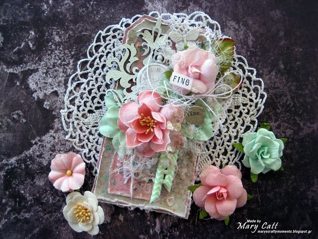 Mary's Crafty Moments: ''Fine Time'' - DT Tag for More Than Words Mini Ch...