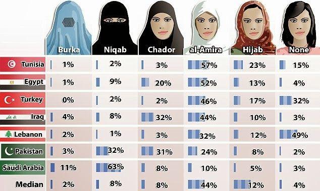 THYSELF, O LORD: Como as Mulheres Muçulmanas querem se vestir? Resposta: Sem cobrir o rosto.