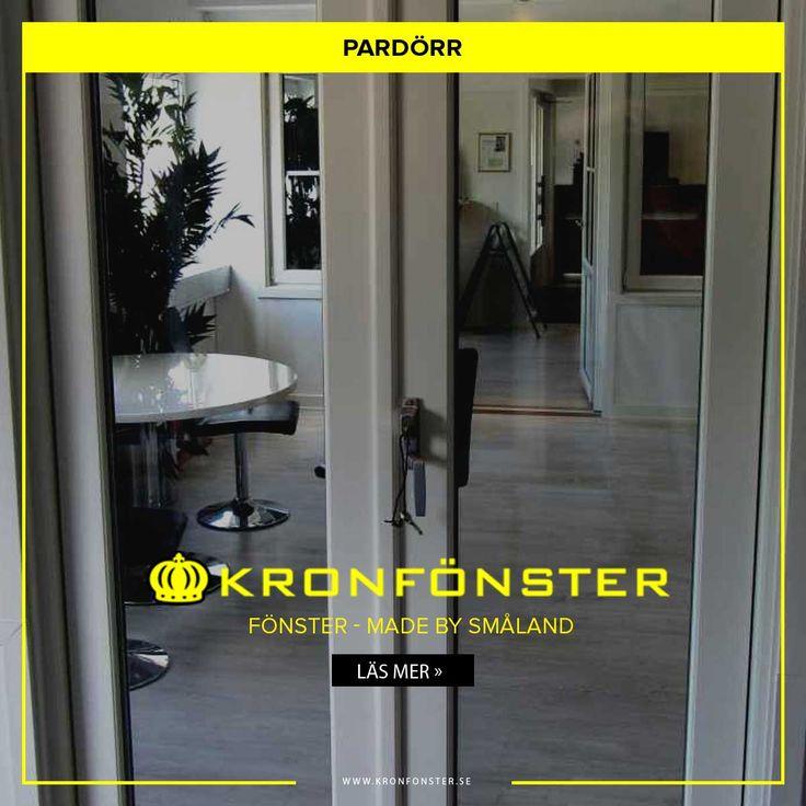 Pardörrar från Kronfönster - Made by Småland  Titan: Pardörr Modulbredd 15*21 (148*208 cm), 3-glas, utåtgående  #Pardörr #Dörrar #Titan #fönsterdörr #pardörrar #fönsterdörrar #Glasdörrar #Dörr #Kronfönster  Läs mer » https://www.kronfonster.se/butiken/product/308-pardorr_15*21_148*208_cm_3-glas_utatgaende.html?utm_content=bufferc667c&utm_medium=social&utm_source=pinterest.com&utm_campaign=buffer