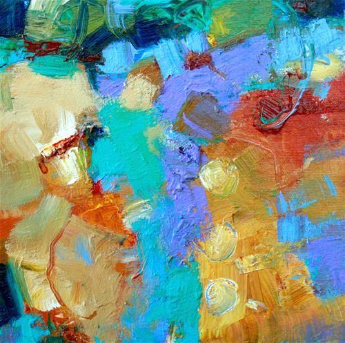 """Daily Paintworks - """"Vista"""" - Original Fine Art for Sale - © Elizabeth Chapman"""