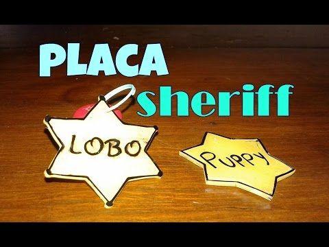 COMO HACER UNA PLACA PARA PERRO / DIY placa collar identificador casero para mascota ♥ - YouTube