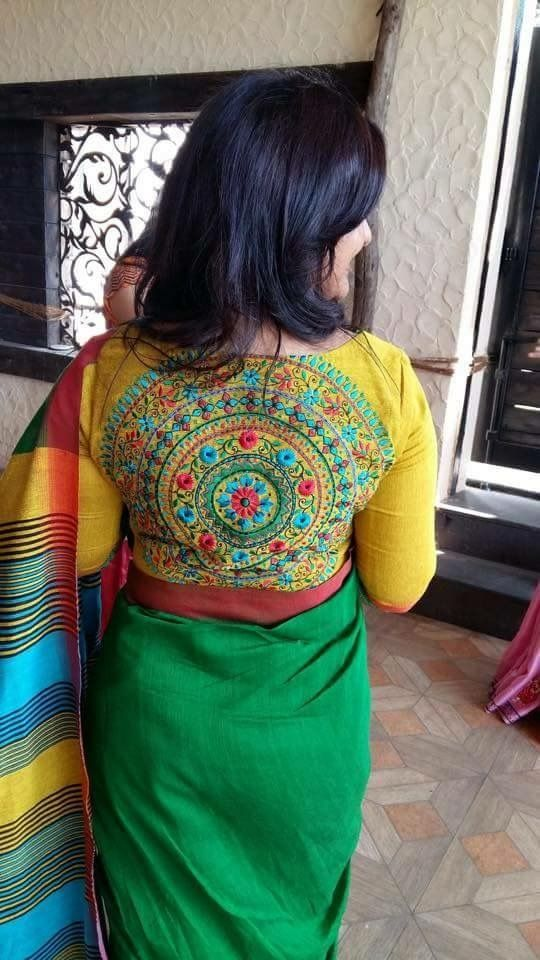 Beautiful handloom Saree from Orissa, India