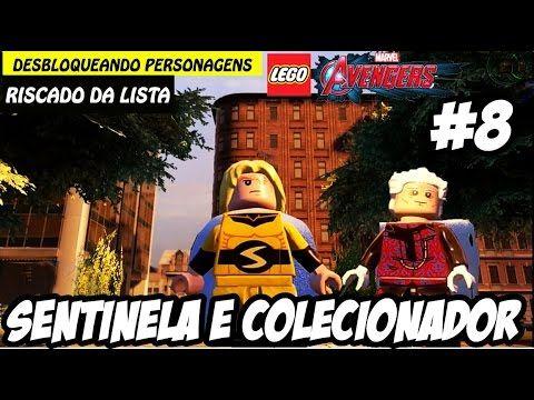 LEGO Marvel Vingadores #8 Sentinela e Colecionador (Portuguê Pt Br)HD-1080p