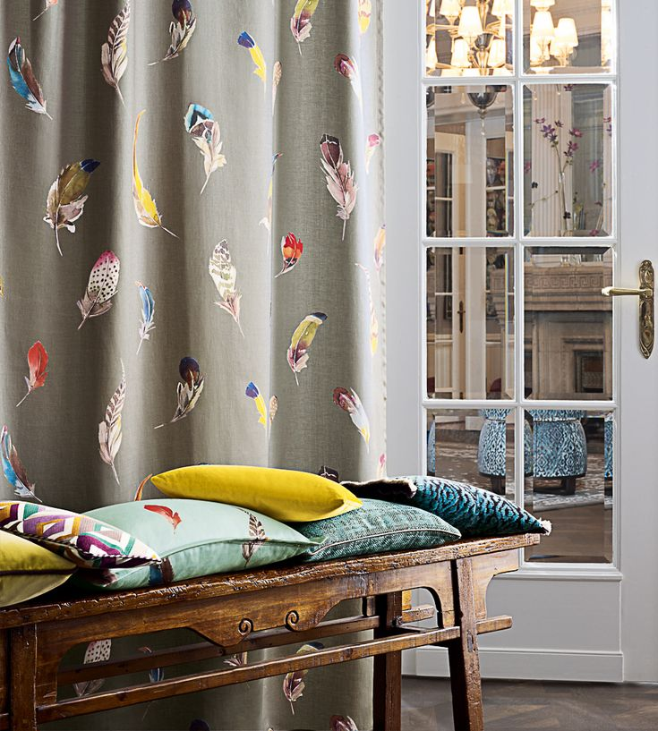 Birds Gallery Fabric by Zimmer + Rohde | Jane Clayton