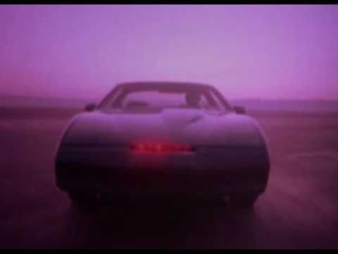 Knight Rider - A young man who does not exist... on a crusade! To champion the cause of the innocent, the helpless, the powerless, in a world of criminals who operate Above The Law! Take that, HR department.