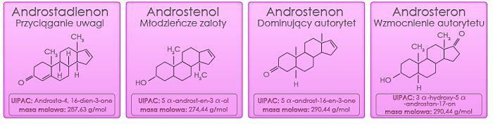 Skład feromonów