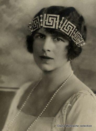 Princess Helen of Romania - Greek Key Tiara