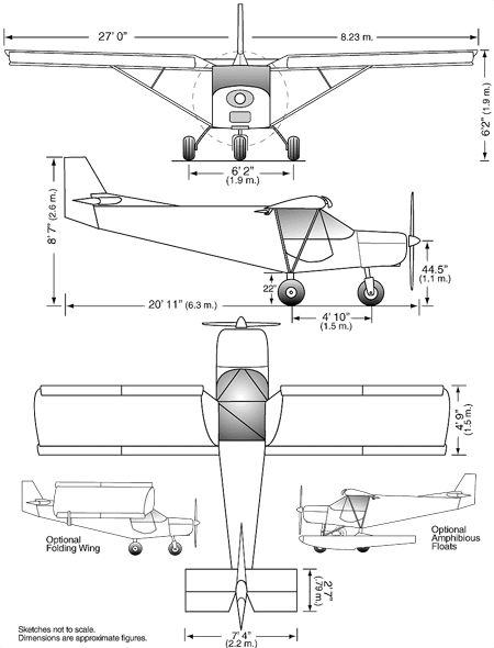 This is a good 3-view image of the ch701 from the Zenith website.