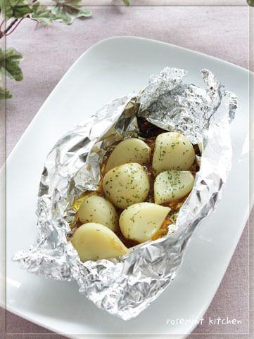 にんにくのホイル焼き*バター醤油麹風味 by ローズミントさん ...