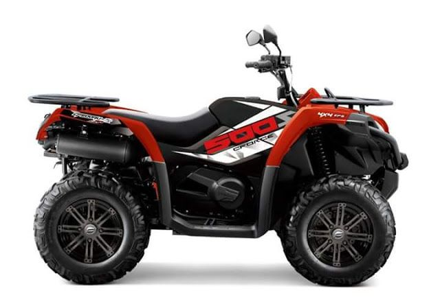 baranjaratube avance nuevo cf moto 520 efi 2017 atv pinterest. Black Bedroom Furniture Sets. Home Design Ideas