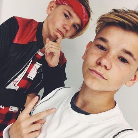 Marcus og Martinus ❤