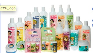 Professional brand for children  Shampoo's,Conditioner, Leave-In Conditioner,Spray Detangler,Swimmer's Shampoo & Protectant Spray, Pump Hair Spray, and various other styling products :-)