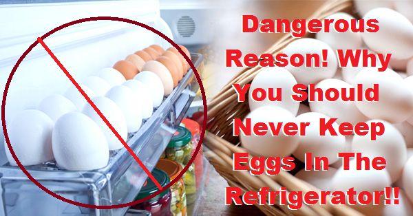 De reden waarom je nooit eieren in de koelkast moet bewaren – iets wat je moet weten.   Dagelijks.nu
