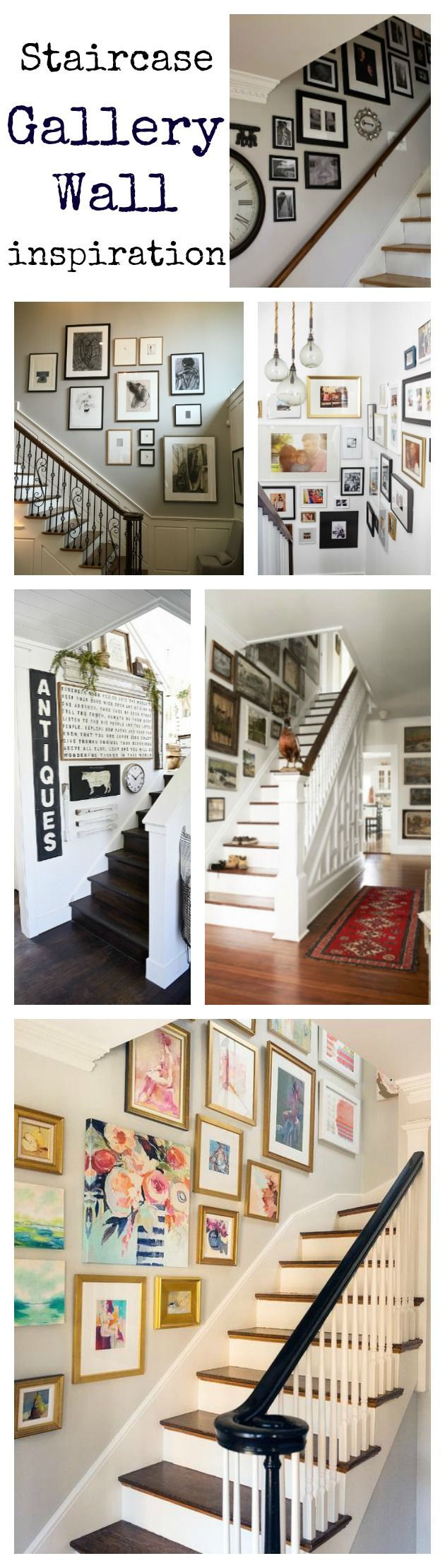Staircase Gallery Wall Inspiration