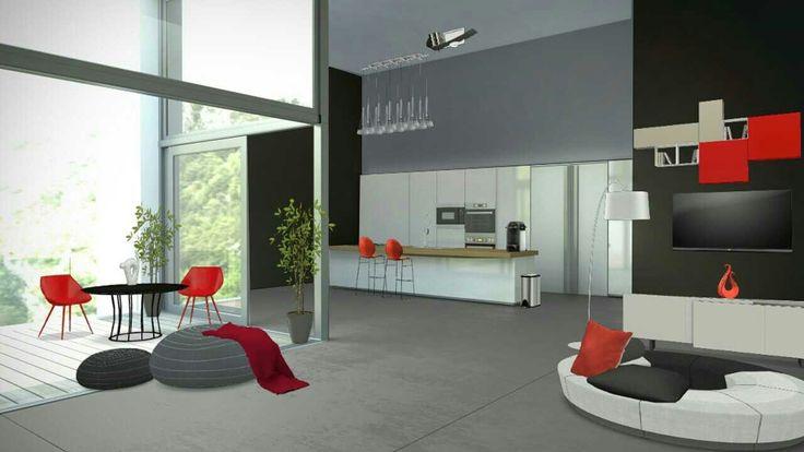 Kitchen living concept