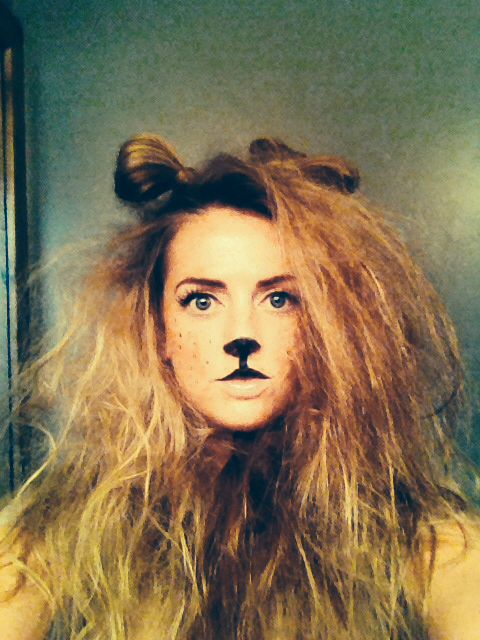 Lion costume #halloweencostume #lioncostume #lion