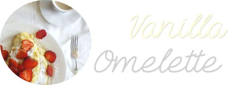 Wanilla omelette waniliowy omlet