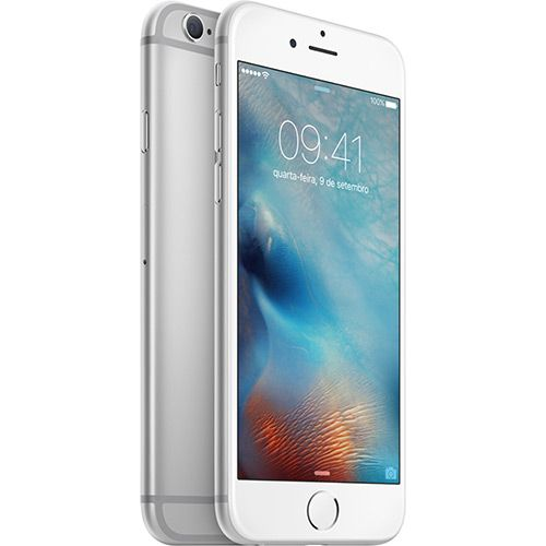 (Americanas.com) iPhone 6s 64GB Prata Desbloqueado iOS 9 4G 12MP - Apple - de R$ 4999 por R$ 3783.12 (25% de desconto)