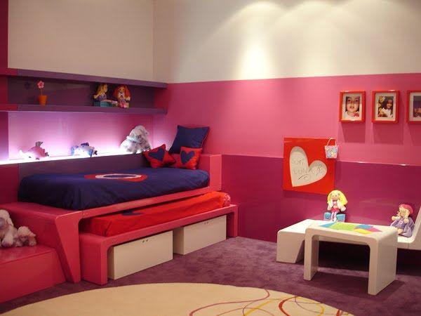 Dormitorio para chicas recamara para jovencitas - Habitaciones juveniles clasicas ...