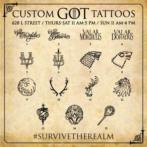 "Heading to #SDCC?  Starting tomorrow, come #SurviveTheRealm at 628 L Street (across from the Omni Hotel), pledge your allegiance with some ""Westeros ink,"" participate in interactive activities, win #GoT-themed prizes and more."