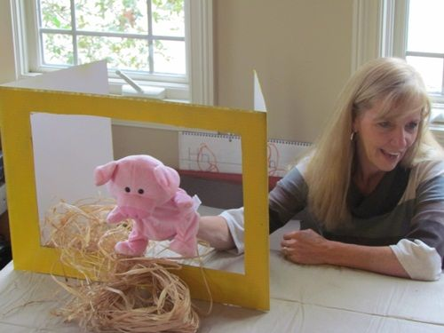 Three Little Pigs and DIY Puppet Theatre by Teach Preschool