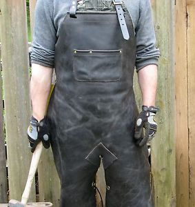 Leather-Welding-Apron-Protective-Clothing-Carpenter-Blacksmith-Gardening-07