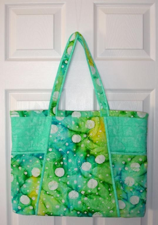 Looking for your next project? You're going to love Bold and Beautiful Quilted Tote Bag by designer Barbara Weiland.