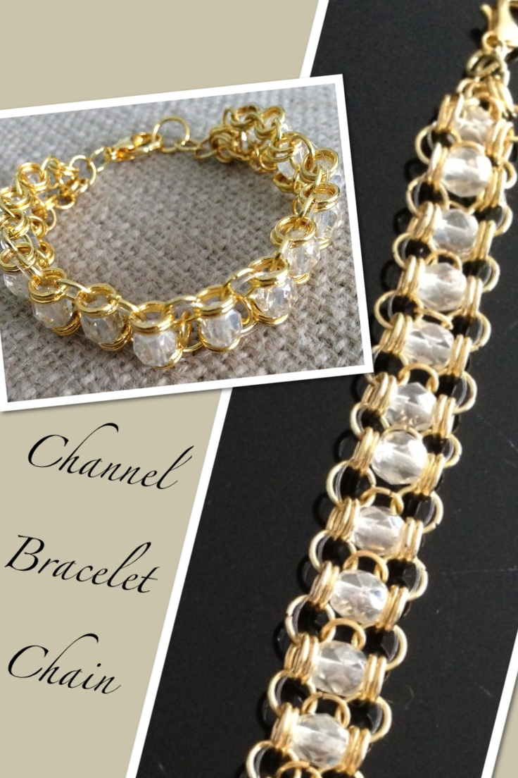 Channel Bracelet Chain